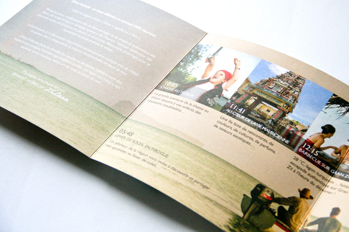 attitude brochure design