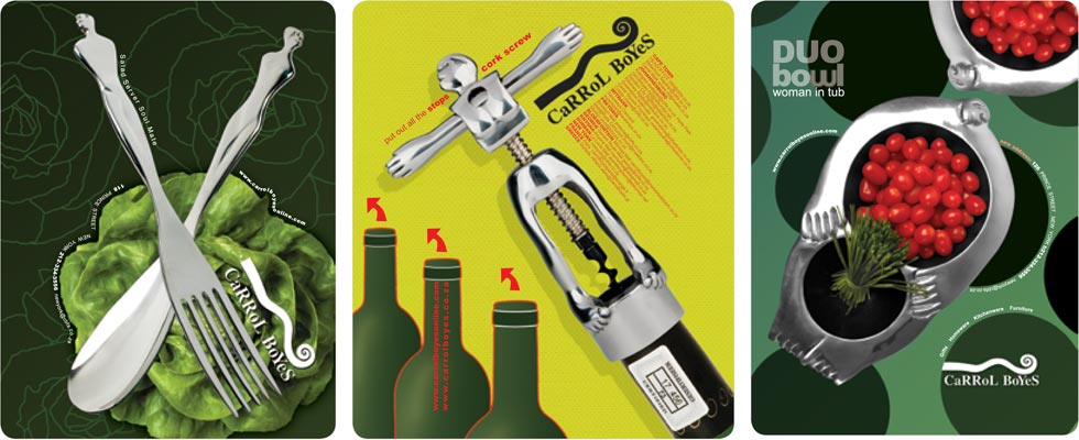branding carrol boyes, advert, print