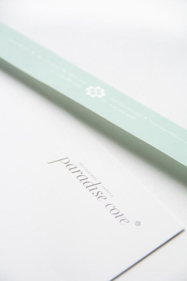 stationary design, branding